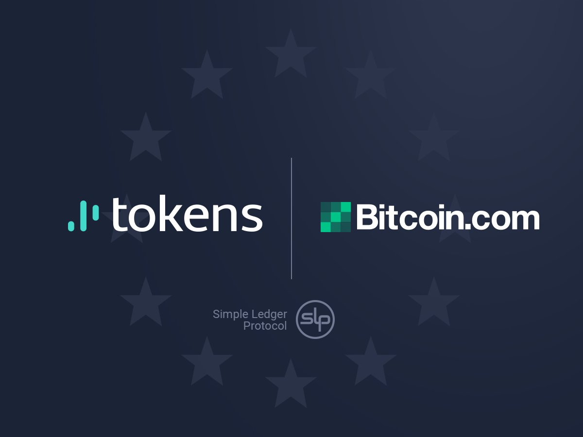 Tokens.net Seals Partnership With Bitcoin.com as an Official SLP Partner