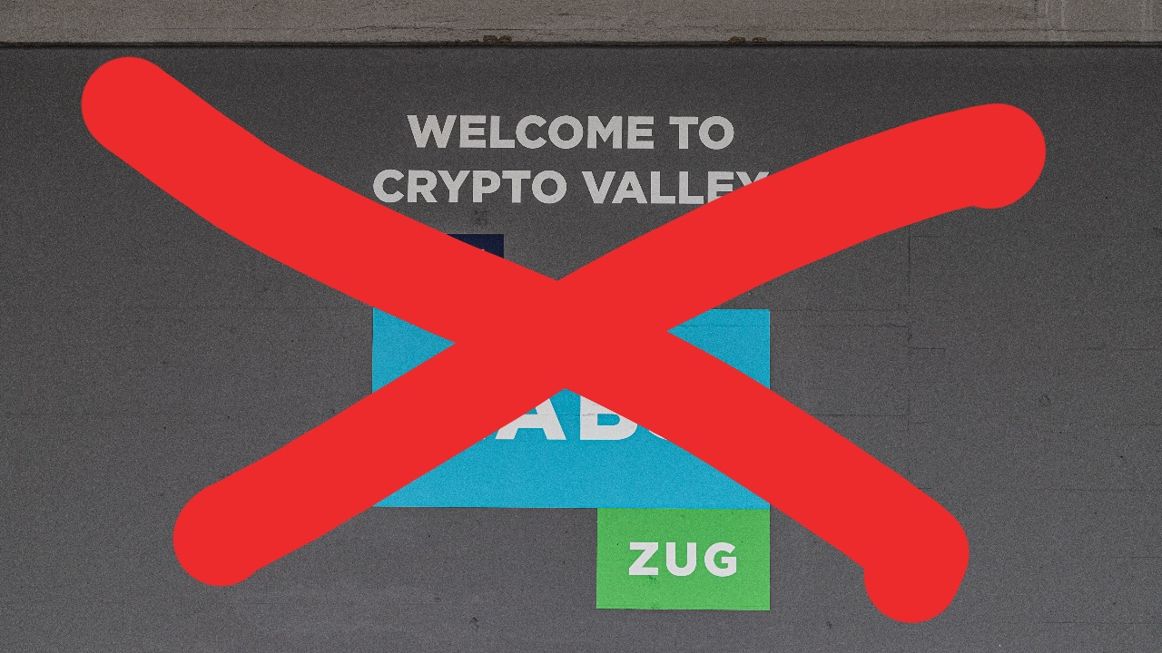 "Switzerland's Famed ""Crypto Valley"" Seeks $103 Million Government Bailout"
