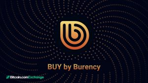 Bitcoin.com Exchange Announces Listing of New Digital Asset BUY by Burency